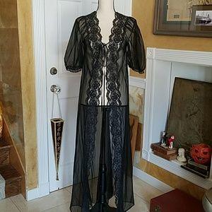 Vintage 60's La Femme de Vanity Fair Peignor Robe